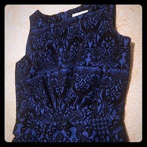 New york and company velvette dress